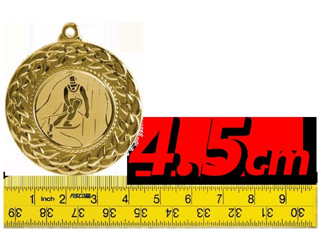ΜΕΤΑΛΛΙΑ (4.5cm)