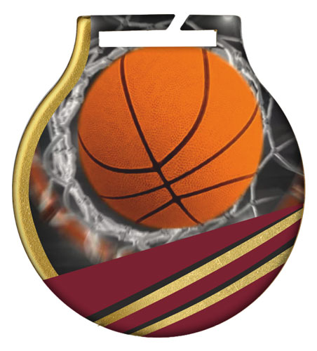 ΜΕΤΑΛΛΙΟ (5cm) - BASKETBALL MC61BAS
