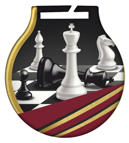 ΜΕΤΑΛΛΙΟ (5cm) - CHESS MC61CHESS