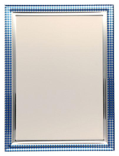 ΜΕΤΑΛΛΙΚΟ ΠΛΑΙΣΙΟ ΠΛΑΚΕΤΑΣ 75118/S/BL (18cm x 13cm)